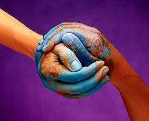 Healing the world starts with healing ourselves, with healing each other.