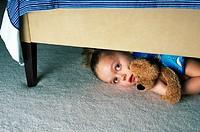 girl-under-bed